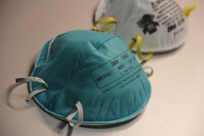 Picture of N95 mask.